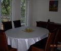 Alkotóház Villa, ebédlő