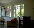 Péchy Villa, Balaton felé néző nappali